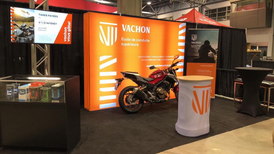 Vachon École de conduite supérieure au Salon de la moto de Québec 2020!