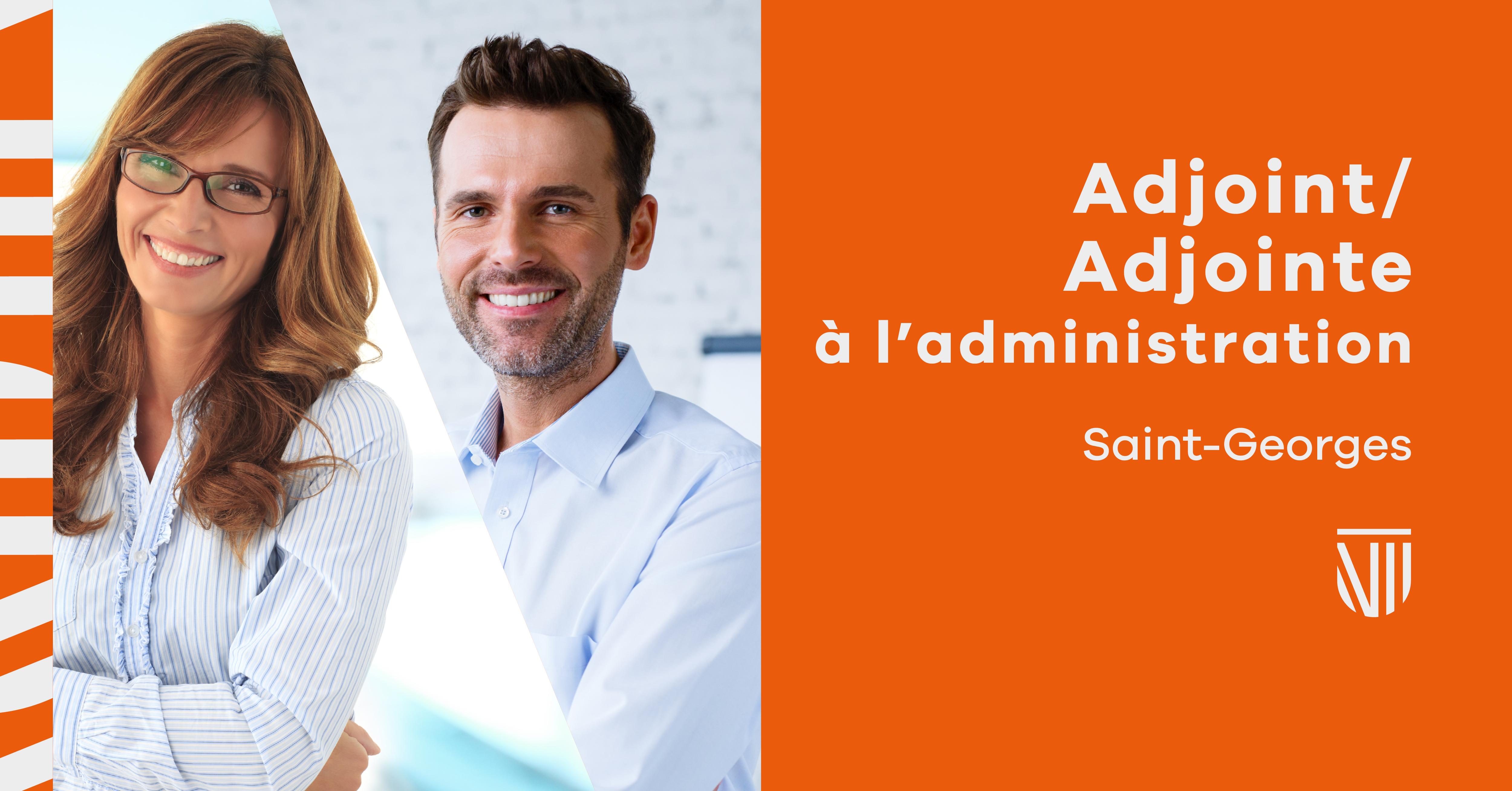 Adjoint/Adjointe à l'administration